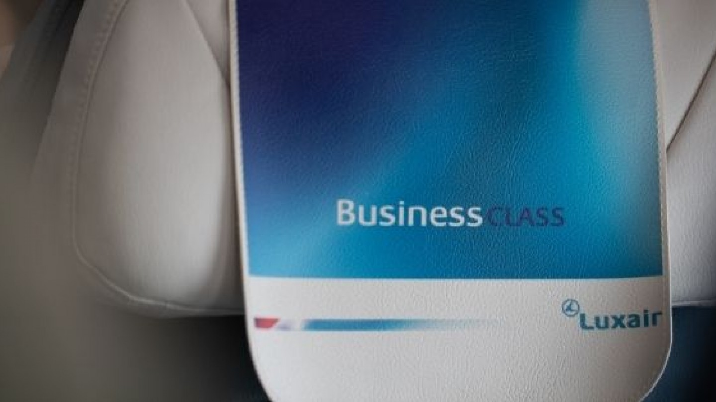 business classe luxair